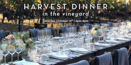 Cosentino Harvest Dinner in the Vineyards
