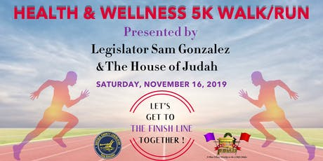 Health & Wellness 5k Walk/Run tickets