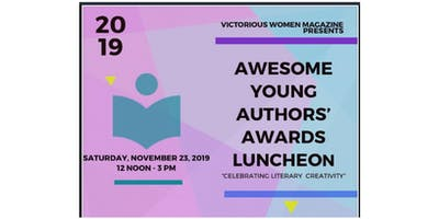 Awesome Young Authors' Awards Luncheon