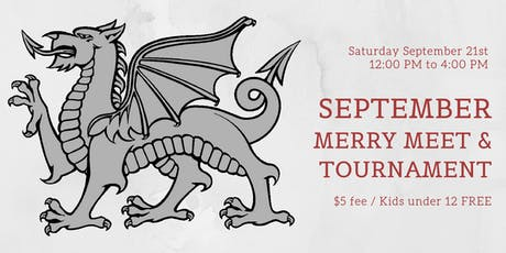 September Merry Meet and Tournament tickets