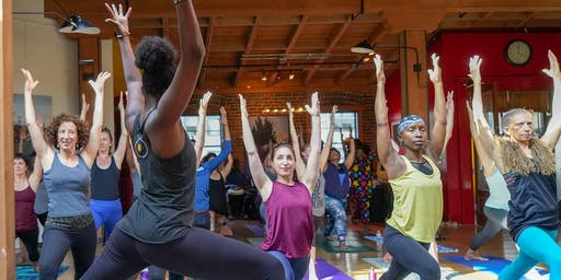 Africa Yoga Project Fundraiser: Yoga & West African Dance