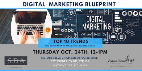 Digital Marketing Blueprint: 10 Marketing Trends for 2020 tickets