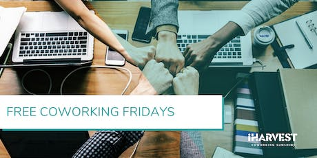 Free Coworking Fridays - October 2019 tickets