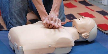 CPR & Defibrillate Basics tickets