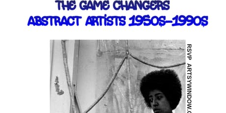 ART HISTORY CLASS: THE GAME CHANGERS - ABSTRACT ARTISTS 1950s-1990s tickets