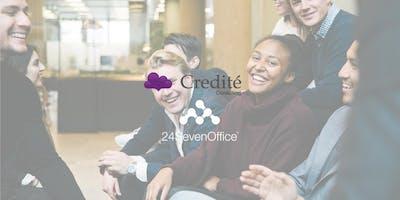 Lunch med Credité Consulting och 24SevenOffice