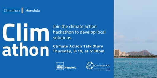 Climate Action Starts with you!: A Talk Story Event
