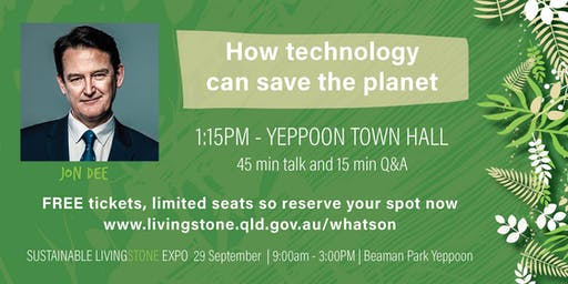 Jon Dee - How technology can save the planet