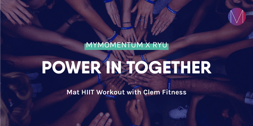 Mat HIIT workout | myMomentum x RYU with Clem Fitness