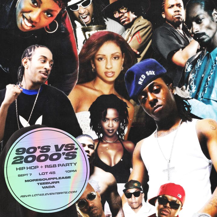 1990's vs 2000's Hip Hop and R&B Party Tickets, Sat, Sep 7