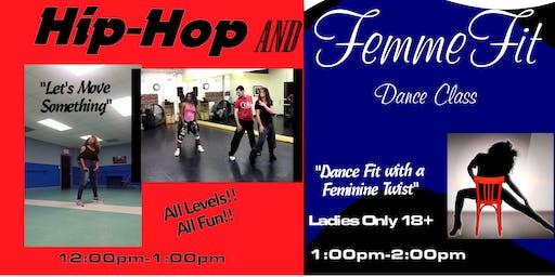 Hip-Hop & FemmeFit Dance 2-class Combo
