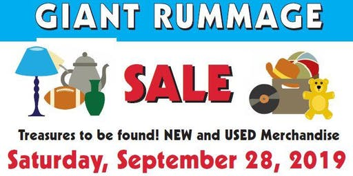 Sellebration! - A Huge Rummage Sale Open to All!