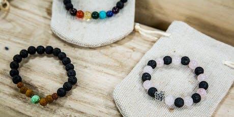 Aromatherapy bracelet workshop  tickets