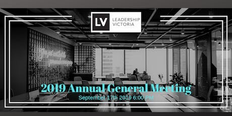 2019 Leadership Victoria AGM tickets