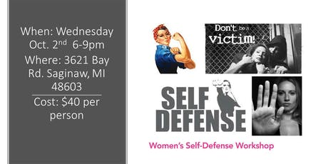 Women's Self Defense Training tickets