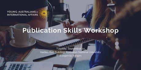 Publication Skills Workshop tickets