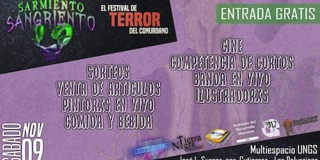 Sarmiento Sangriento 4 - Festival de terror entradas