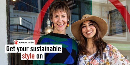 Save the Children workshop on how to be sustainable in Style