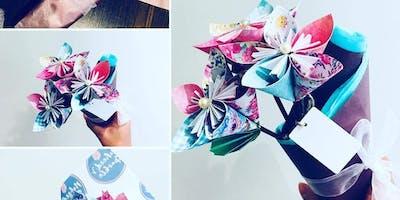 Mindfulness and Craft Workshop: Paper flowers, gratitude & burgers!
