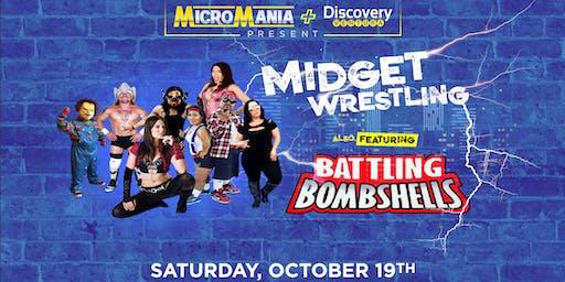 MicroMania presents Midget Wrestling featuring Battling Bombshells