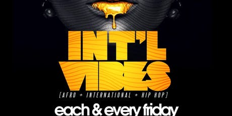 INT'L Vibes at Studio Lounge Providence tickets