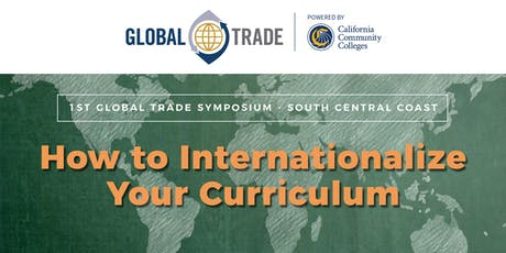 1st Global Trade Symposium - South Central Coast tickets