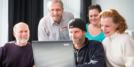 Seniors Week - Coffee Cake and Computers - Be Connected Basic Computing @ Glenorchy Library tickets