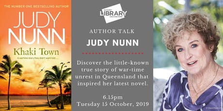 An evening with Judy Nunn tickets