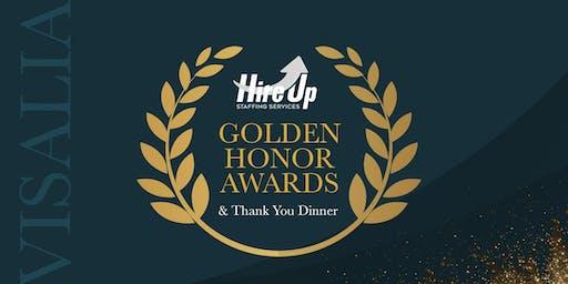 2019 Hire Up Golden Honor Awards & Thank You Dinner - Visalia