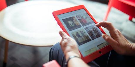 Seniors Week - Be Connected - iPad Basics  @ Glenorchy Library tickets