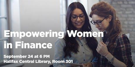 Empowering Women in Finance tickets