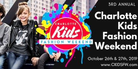 Charlotte Kids Fashion Weekend 2019 tickets
