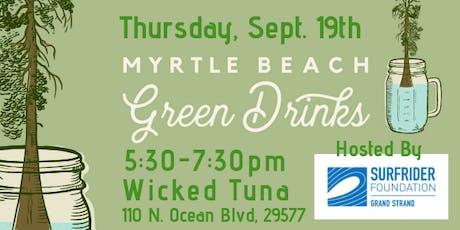 Myrtle Beach Green Drinks with Surfrider Grand Strand tickets