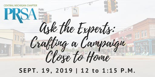 Ask the Experts: Crafting a Campaign Close to Home