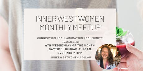 Inner West Women Monthly Meetup tickets
