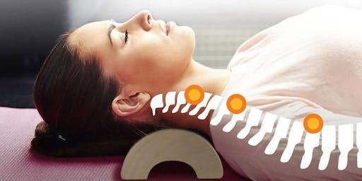 Spinal Health & Wooden Pillow Class