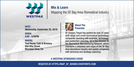 Mapping the SF Bay Area Biomedical Industry tickets