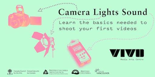 Camera Lights Sound with Alysha Seriani