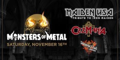 Monsters of Metal Tribute to Iron Maiden x Ozzy Osborne x Priest