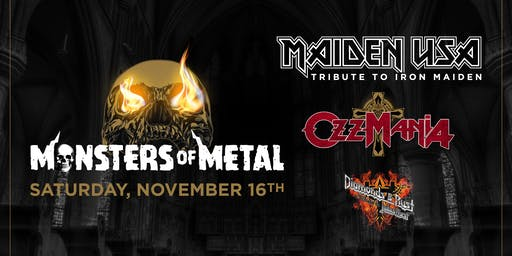 Monsters of Metal Tribute to Iron Maiden x Ozzy Osborne x Priest