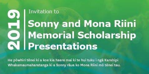 Sonny and Mona Riini Memorial Scholarship