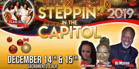 SLAY's Steppin' in the Capitol Holiday Event tickets