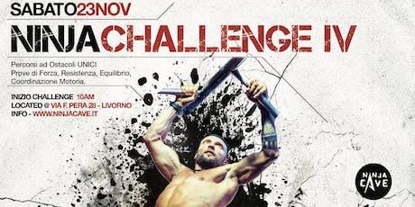 Ninja Challenge IV - #ninjaisbetter biglietti
