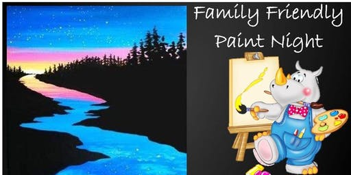 Family Friendly Paint Night