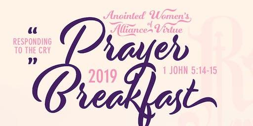 AWAV Prayer Breakfast: Responding to the Cry