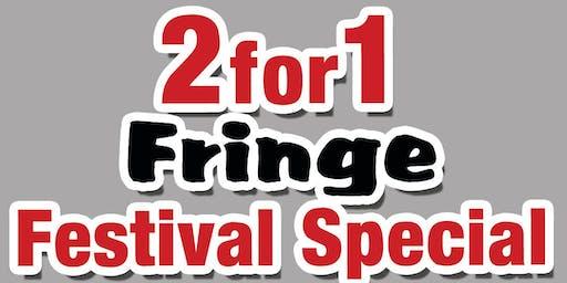BONKERZ Celebrates The Sydney Fringe Festival with 2 for 1 seats