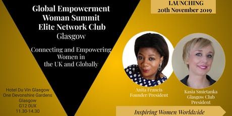 Elite Network Club Glasgow Launch tickets