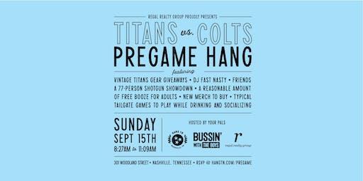 Titans vs. Colts: A Pre-game Hang