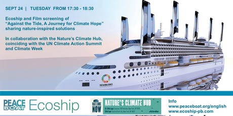 "Ecoship and ""Against the Tide, A Journey for Climate Hope"" film screening tickets"