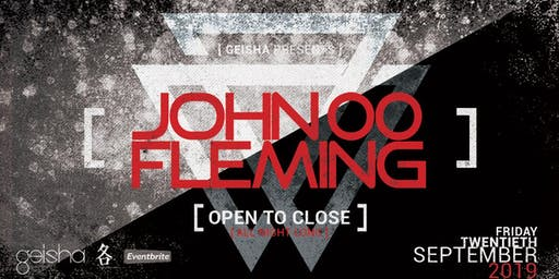 Geisha pres John 00 Fleming (Open til Close)